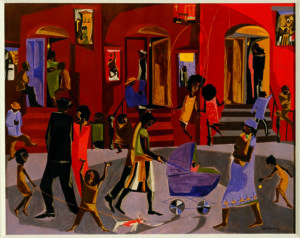 Jacob Lawrence, 1958, Clark Atlanta University Art Museum