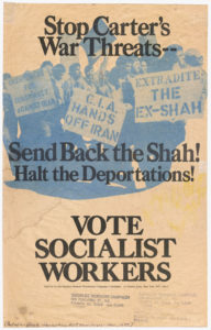 Vote Socialist Workers, circa 1979Political Posters Collection