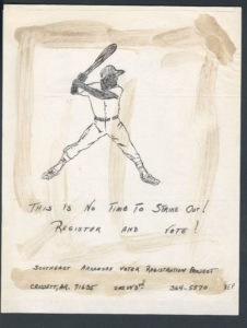This Is No Time to Strike Out!, Voter Education Project (Southern Regional Council)undated Voter Education Project organizational records