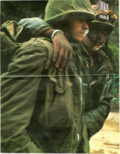 Photo of White and African-American Soldiers, George Alexander Sewell, circa 1967-1969, George A. Sewell papers