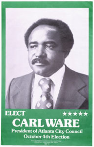 Elect Carl Ware, circa 1977Political Posters Collection