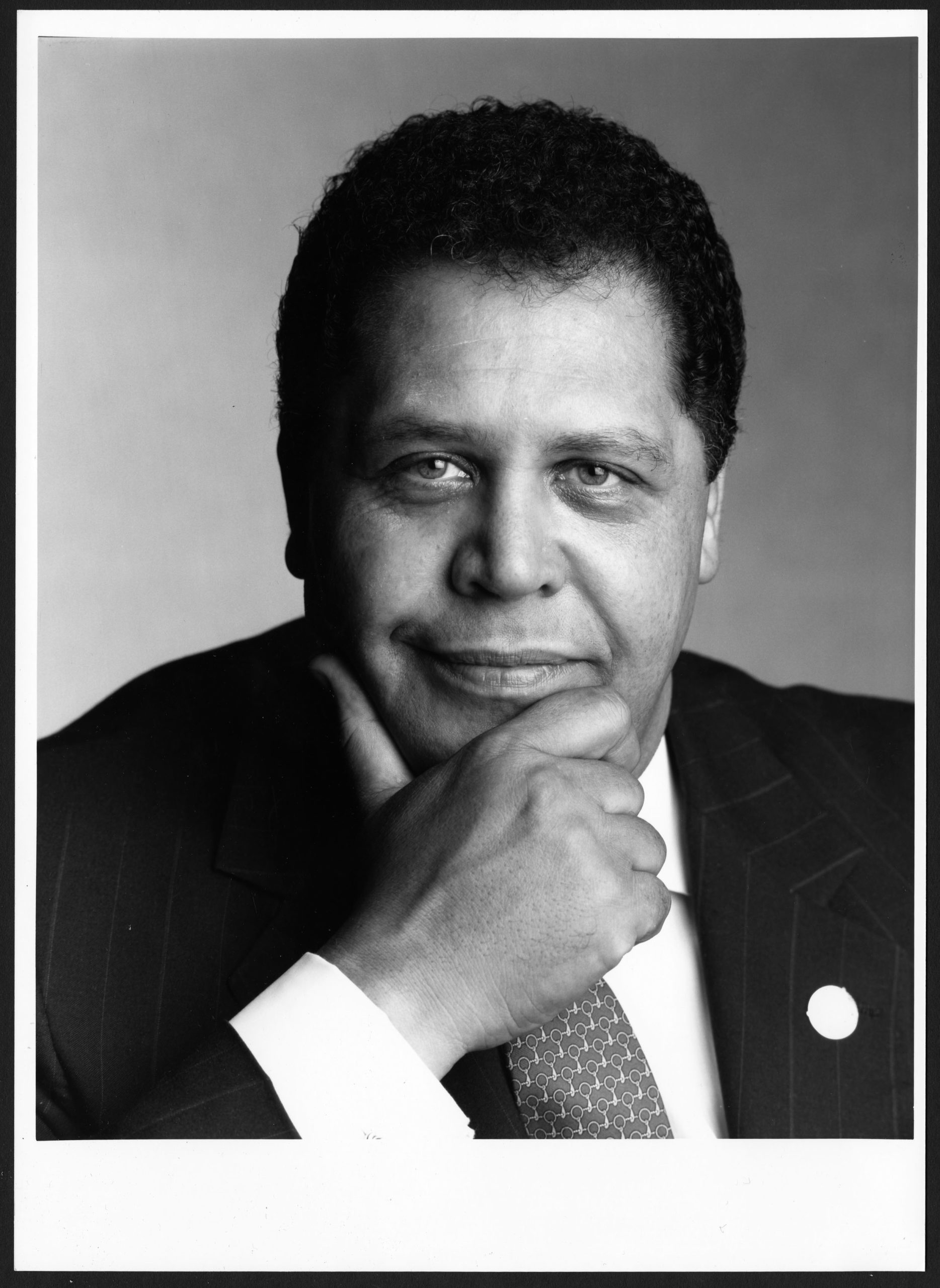Portrait Jackson, undated, Maynard Jackson mayoral administrative records: Series F: Photographs