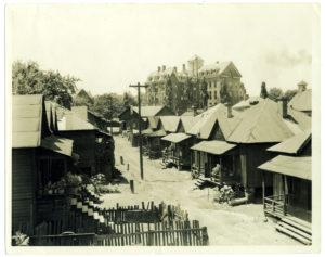 Houses in slum area Neighborhood Union undated Neighborhood Union Collection