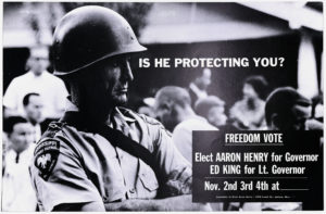 Is He Protecting You?, circa 1963Political Posters Collection