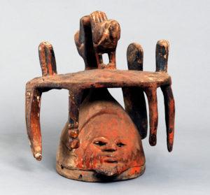Gelede Mask, Yoruba, undated, Spelman College Museum of Fine Art