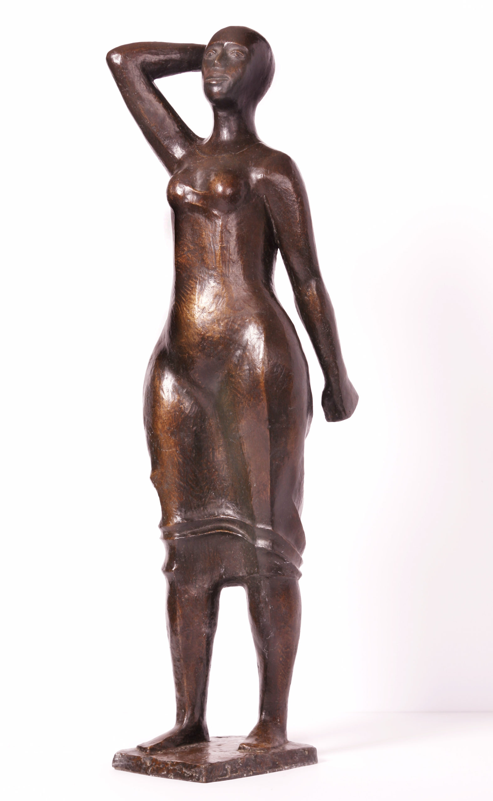Woman Walking, Catlett, Elizabeth, 1987, Spelman College Museum of Fine Art