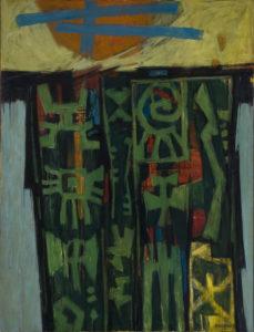Celestial Gate, Woodruff, Hale, 1953, Spelman College Museum of Fine Art