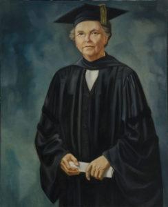 Portrait of Florence Read, President Emerita of Spelman College, Woodruff, Hale, circa 1943, Spelman College Museum of Fine Art