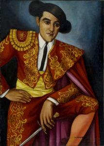 Untitled (Matador), Woodruff, Hale, 1944, Spelman College Museum of Fine Art