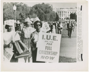 Civil Rights Demonstrators during the March on Washington for Jobs and Freedom