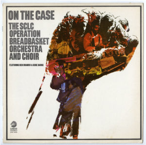 """On the Case The SCLC Operation Breadbasket Orchestra and Choir"""" Vinvyl Cover"""