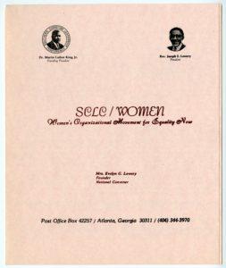 Brochure, SCLC/WOMEN