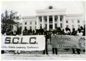 Southern Christian Leadership Conference event at Alabama State College