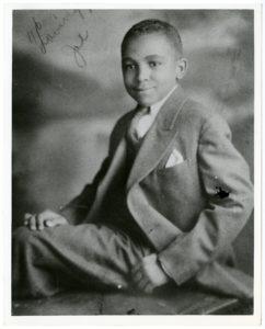 Young Joseph Echols Lowery