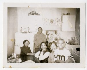 Dr. Joseph Echols Lowery and Evelyn Gibson Lowery with family