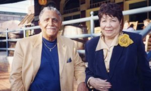 Dr. Joseph Echols Lowery and Evelyn Gibson Lowery