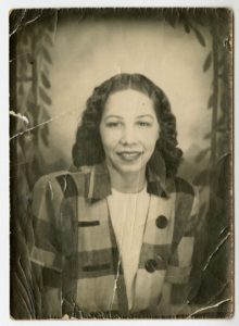 Evelyn Gibson Lowery, unknown, circa 1945